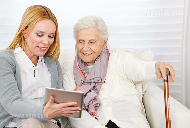 خانه ی هوشمند برای سالمندان