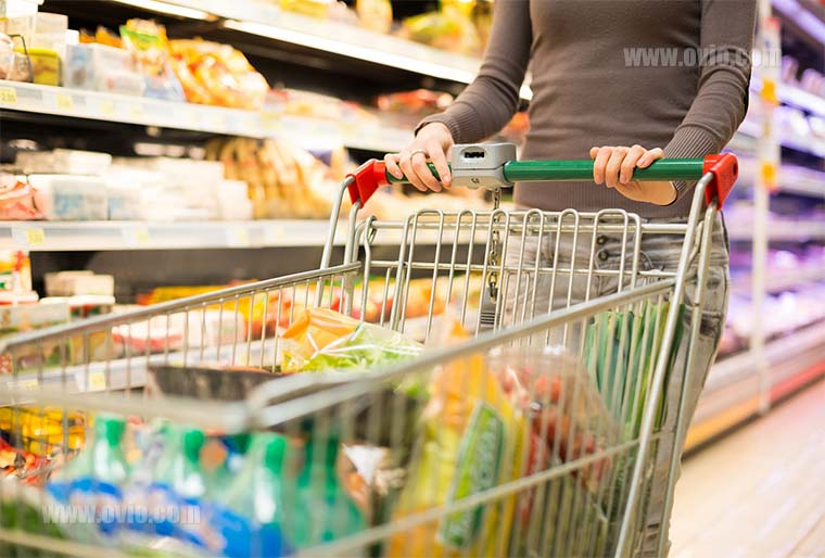 سنسور دما و رطوبت برای فروشگاه مواد غذایی