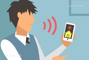 سیستم فرمان صوتی در خانه هوشمند