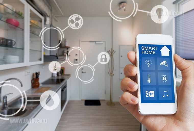 کاربرد اینترنت اشیا در خانه هوشمند