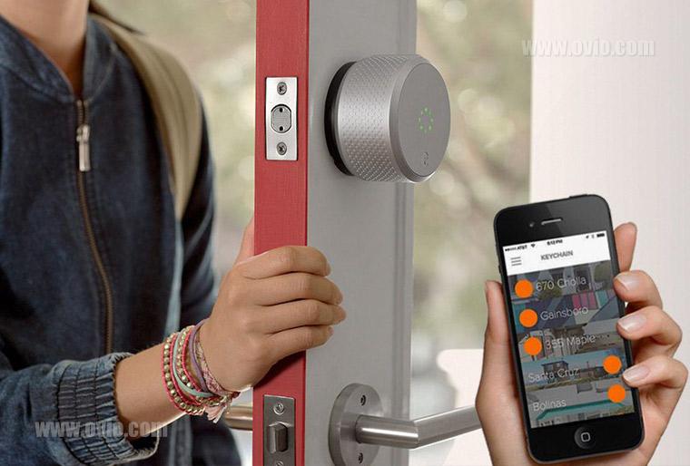 خرید قفل هوشمند درب