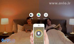 هوشمند سازی اتاق خواب