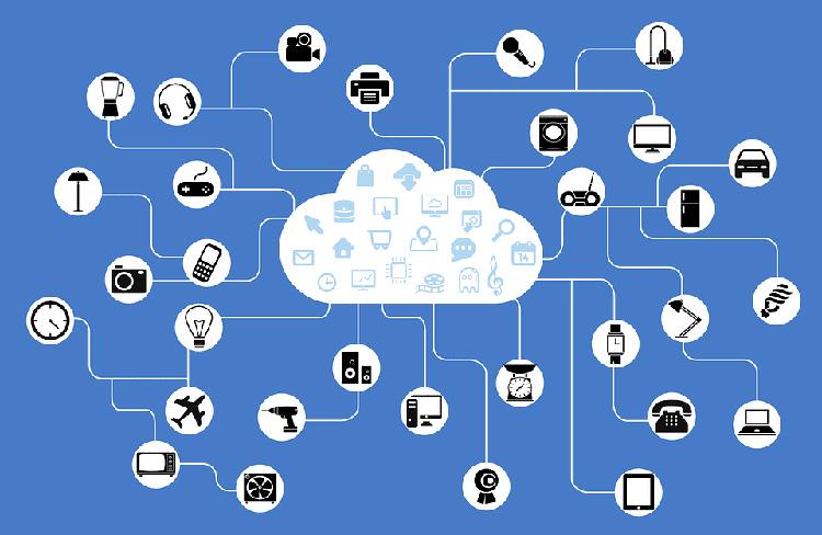 اتصال شبکه اینترنت اشیا